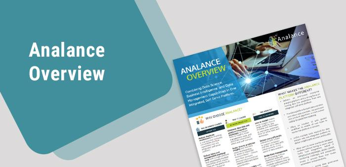 Product Brochure - Analance Overview